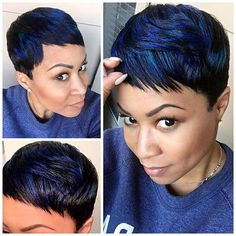 Today we have the most stylish 86 Cute Short Pixie Haircuts. We claim that you have never seen such elegant and eye-catching short hairstyles before. Pixie haircut, of course, offers a lot of options for the hair of the ladies'… Continue Reading → Short Human Hair Wigs, Short Bob Wigs, Short Pixie Haircuts, Pixie Hairstyles, Short Hair Cuts, Short Hair Styles, Cool Hairstyles, Natural Hair Styles, Black Pixie Haircut