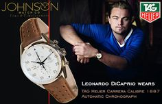 Your Favorite Leonardo DiCaprio from Hollywood, Ambassador for International Watch Brand TAG Heuer  Discover Marvelous Range of Luxury #TagHeuer Watches at Johnson Watch Boutique. Explore #TagHeuerWatches Online at http://www.johnsonwatch.com/tag_heuer.php  #Hollywood #LuxuryWatches #Fashion #Shopping #Watches #Luxury #BrandedWatches #SwissWatches #LeonardoDiCaprio #Hollywood #Celebrity #menswatches #watchesformen #mensfashion #mensstyle