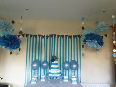 Baby Boy shower party