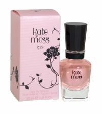 Kate Moss Kate Eau De Toilette 30ml Kate by Kate Moss fragrance is 'a mix of elegant and risqué.' Kate perfume is infused with smoky rose and black undertones, coupled with a vintage English feel. The 'complicated floral' scent will reflect the duality of Kate Moss. Kate Moss' fragrance 'captures the two sides of Kate: the good Kate and the bad Kate'.