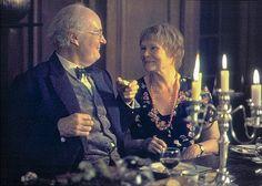 "Judi Dench and Jim Broadbent in the movie ""Iris"""