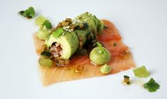 Salmon, Avocado, Ponzu
