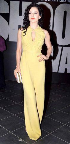 Kangna Ranaut at 'Shootout At Wadala' success party #Bollywood #Fashion