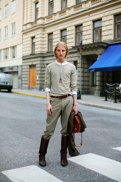 On The Street……..Olof., Stockholm « The Sartorialist
