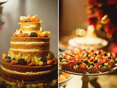 Great wedding! Cake decorated with  fruits - berries, star fruit, kiwi!  Rio de Janeiro, Brazil.