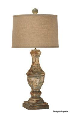 Turned Wooden Lamp Base: wooden lamp base,Lighting