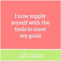 Affirmations for Self Employed Women Entrepreneurs from Coach Erin #ecoacherin http://www.ecoacherin.com/insights