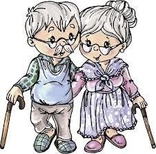 Growing old together.Fod should get a moustache. Growing Old Together, Old Couples, Grands Parents, Cute Clipart, Card Sentiments, Art Impressions, Grandparents Day, Digi Stamps, Anniversary Cards