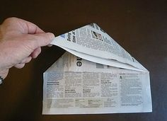 paper folding story-tell the story of Christ's life...ending with the cross