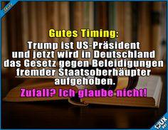 Ob das Zufall ist? ^^'  Lustige Sprüche #Humor #jux #1jux #Sprüche #Jodel #lustigeSprüche #lustig #lustigeBilder #Majestätsbeleidigung #Deutschland #Gesetz #Bundestag #Beleidigung