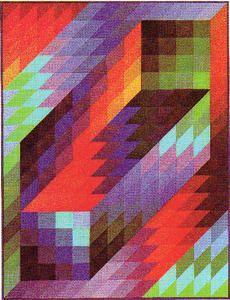 Gestalt III - (Victor Vasarely)