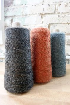 Alpaca yarn for weavers - many colors available!