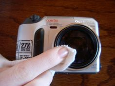Cleaning Digital Camera Lens