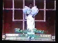 Miss Venezuela 1981 Traje de Gala, evening gown (Part 1)