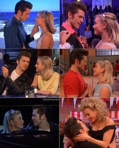 """Julianne and Aaron did an awesome job as Sandy and Danny!  Oh the chemistry between these two!  #JulianneHough #AaronTveit #GreaseLive"""