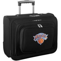 New York Knicks Carry-On Rolling Laptop Bag - Black