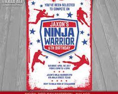 Image result for american warrior ninja party kids
