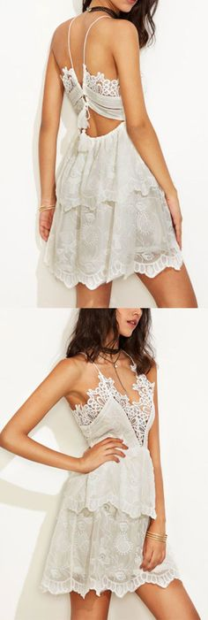 Lovely Spaghetti Straps Mini Dresses,Lace Homecoming Dresses