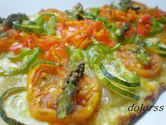 coca de verdures