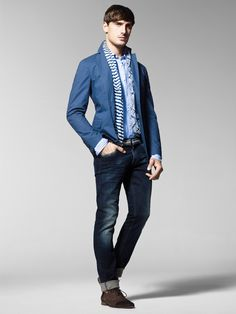Spring/Summer 2013 United Colors of Benetton Man collection. #fashion #mensfashion #menswear #style #outfit