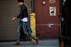 New York Fashion Week Street Style, Day 7 - New York Fashion Week Street Style, Day 7-Wmag