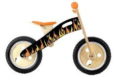 Our Smart Gear Flame Balance Bike is made of birch wood, with real, inflatable rubber tires and adjustable seat height. The Smart Gear Flame Balance Bike is the most effective, fun and safe way for toddlers to learn how to ride a bicycle. Toddler Bike, Play Vehicles, Balance Bike, Best Kids Toys, Bike Run, Rubber Tires, Tricycle, Little Man, Motor Skills
