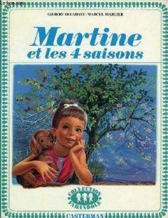 Couverture Martine et les quatre saisons
