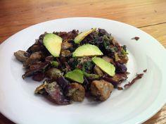 Shrimp and Spinach breakfast scramble | Vegetable stuff | Pinterest ...