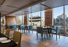 Hotel restaurant in Seoul Korea