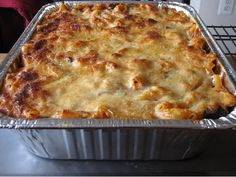 If your kids love pasta but you want to change up your dinnertime routine, try out this baked ziti. Make it ahead of time and bake it when needed. From the refrigerator, the dishusually needs an additional 15 minutes of cooking...