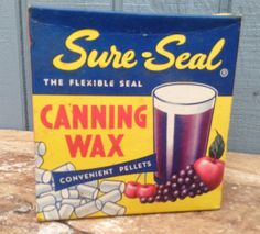 Vintage Canning Package - Sure Seal Canning Package by theindustrycottage on…