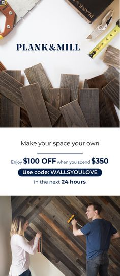 We believe in living in walls you love. Reclaimed wood planks with easy peel and stick backing enable you to create a truly beautiful space you can be proud of. Stick On Wood Wall, Peel And Stick Wood, Wood Picture Frames, Picture On Wood, Interior Design Living Room, Living Room Designs, Small Mudroom Ideas, Rustic Renovations, Simple Desk
