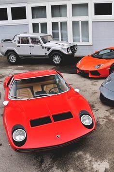 "italian-luxury: ""Lamborghini Miura x Lamborghini LM002 | Italian-Luxury """