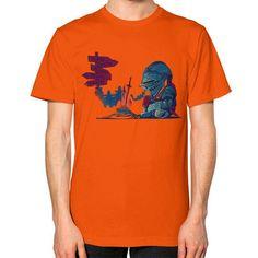 Dark Deathtiny Unisex T-Shirt (on man)