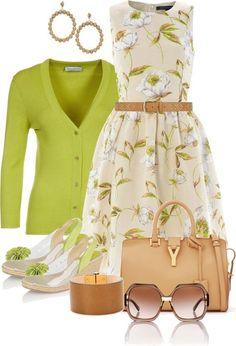 Fashion Moda Tips Mode Outfits, Dress Outfits, Fashion Dresses, Look Fashion, Spring Fashion, Womens Fashion, Classy Outfits, Stylish Outfits, Mode Lolita