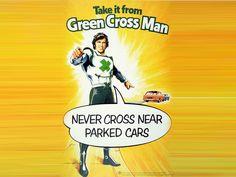 The Green Cross Code Man, 1975