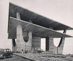 Photo : Television tower by Oscar Niemaye, Brasilia, 1967