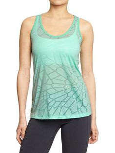 Women's Old Navy Active Knotted Racerback Tanks Product Image