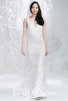 Brides: Watters Wedding Dresses - Spring 2016 - Bridal Runway Shows - Brides.com
