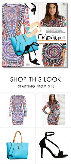 """Tribal print"" by svijetlana ❤ liked on Polyvore featuring vintage, tribalprint, polyvoreeditorial and twinkledeals"