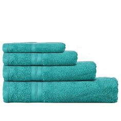 Home Collection Bright turquoise Egyptian cotton towels | Debenhams
