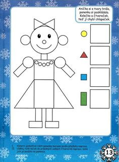 Shapes Worksheets, Kindergarten Math Worksheets, Preschool Learning Activities, Toddler Activities, Preschool Activities, Kids Learning, Teaching Shapes, Math For Kids, Kids Education