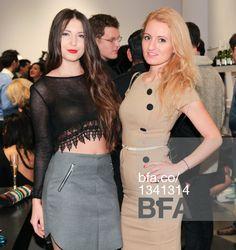 Lidia Zamelukhi, Trisha Benton at Fashion night out with STELLA & JAMIE & JESSICA PIMENTEL from Orange is the New Black. #BFAnyc #Foravi #StellaAndJamie #LidiaZamelukhi #TrishaBenton