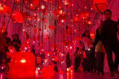 Mexico City light festival