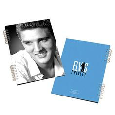 You can write about your love for Elvis in this Elvis Lenticular Spiral Notebook, perfect for fans of all ages! This notebook features 75 lined sheets and two images of Elvis with a lenticular effect