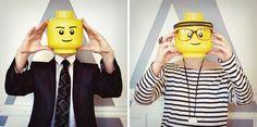 legolize it: LEGO self-portraits