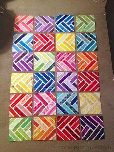 Molli Sparkles: A Rainbow Design Ditty