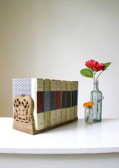 SOLD Vintage carved wood bookshelf/ wooden by RetroandRosesvintage https://www.etsy.com/au/shop/RetroandRosesvintage