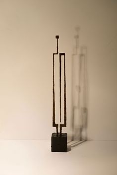 sculpture/bronze by Marek Bimer 67x9cm