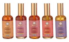 Khadi ayurvedic oil blends - for massage, face or hair. Light but hydrating, smell divine (esp the Rose one and Anti.age one which has patchouli). They absorb fast and work fast. A great all-in-one product. Available at Green store ZG (Croatia) and Ecco Verde (international).